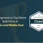 Recognized as Top Rated B2B Firms in Asia and Middle East 2019